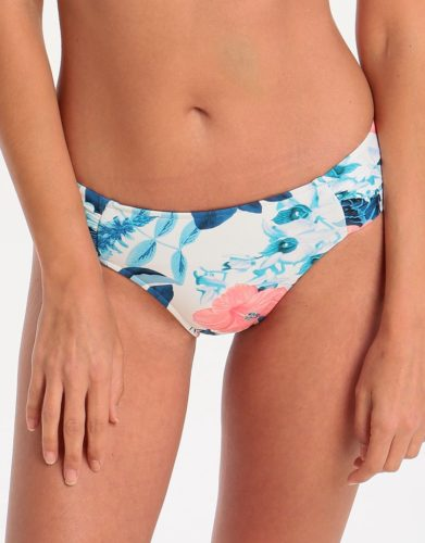 Tropical Vacay Ruched Side Retro