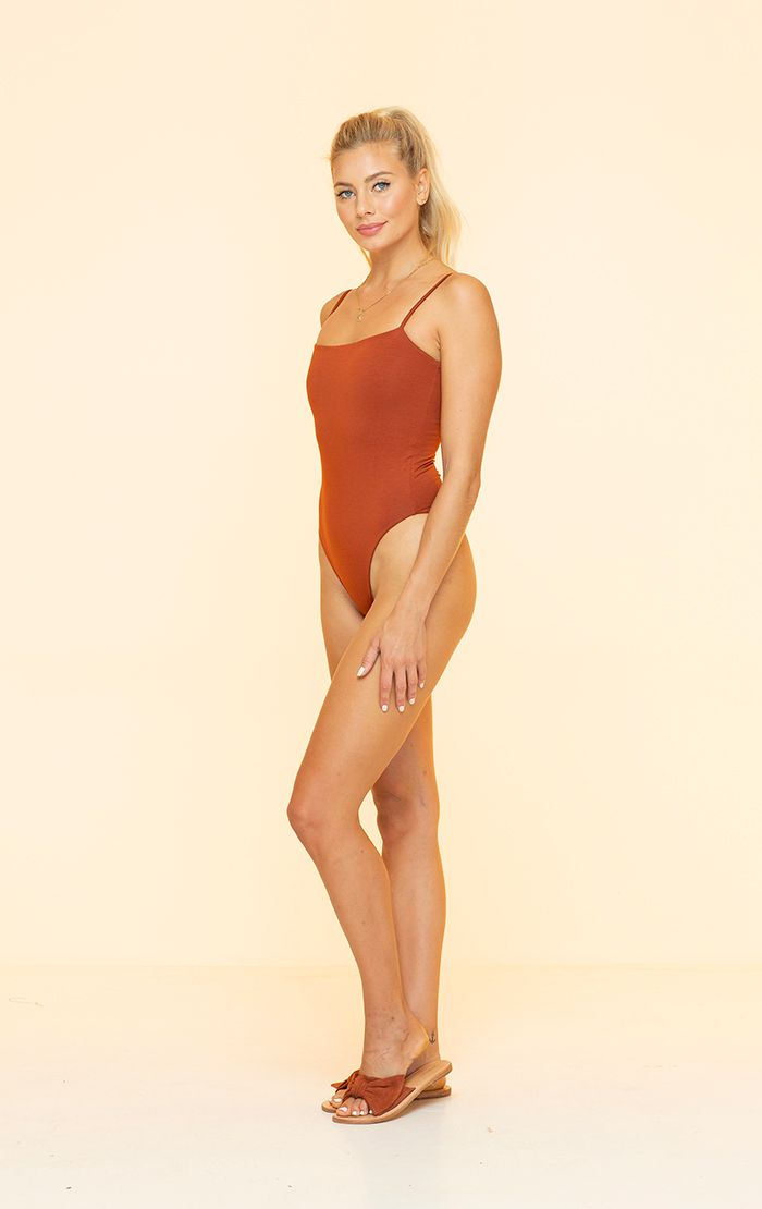 Tiny Dancer Bodysuit Copper