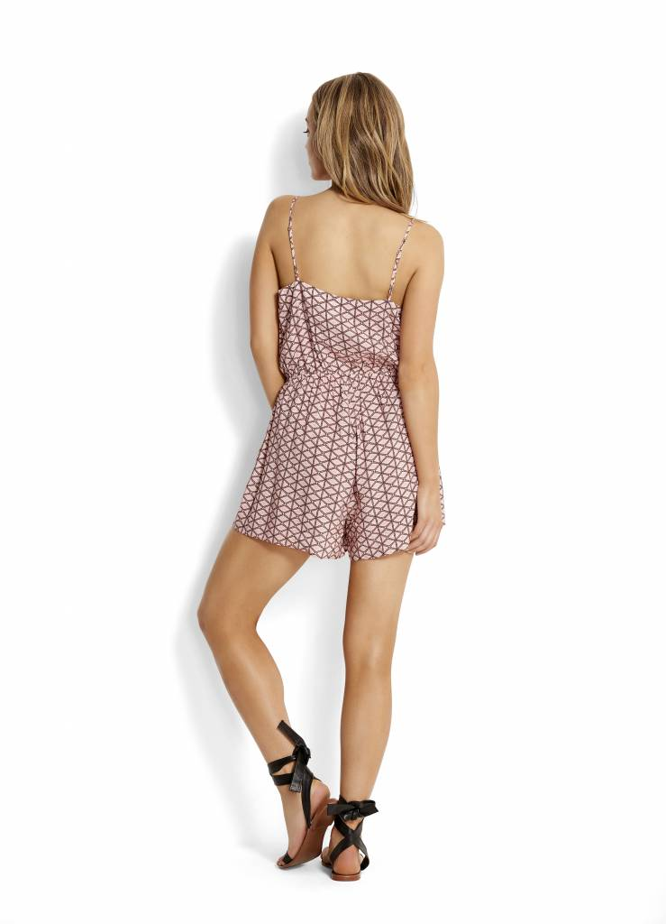 Geo Playsuit Spice
