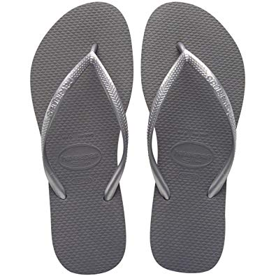 Slim Sandals Steel Grey