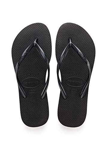 Slim Sandal Black