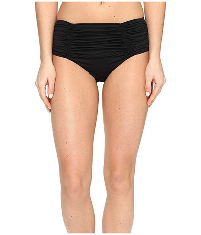Ruched Bandeau Black