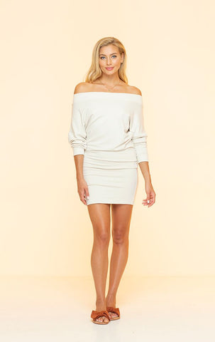 Topanga Knit Dress Cream