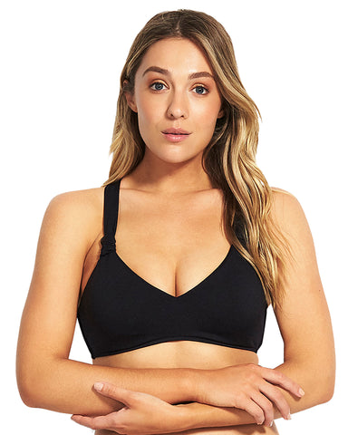 Seafolly DD/E Bralette Boysenberry