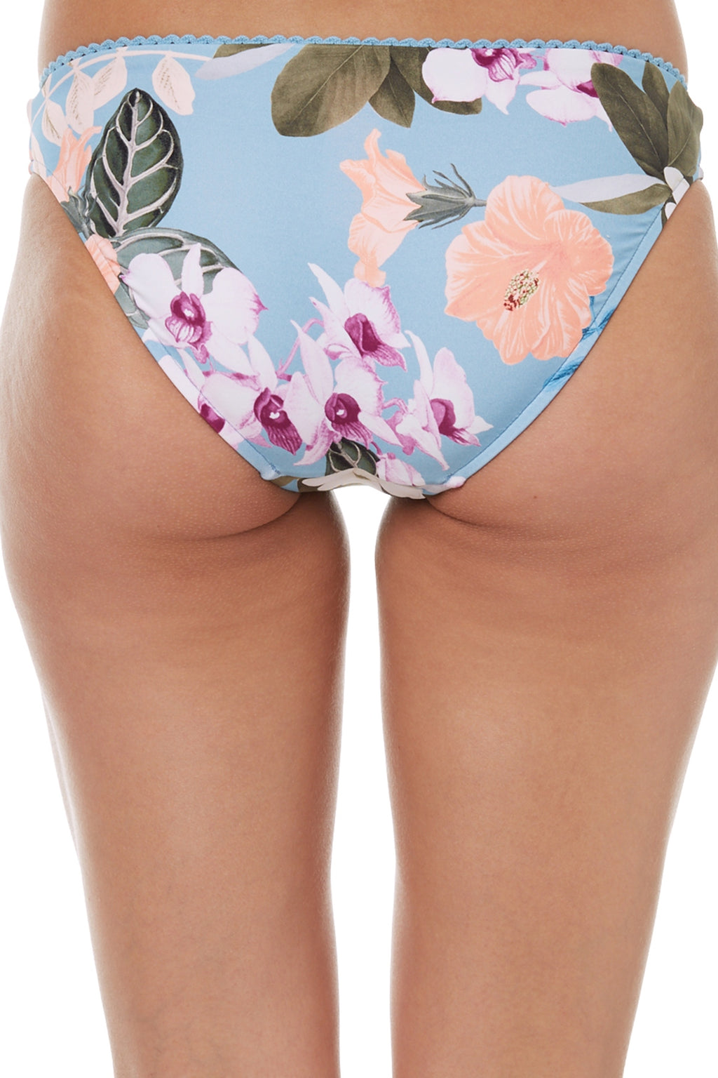 Summer Vacay Bluemist Ruched Retro Bottom