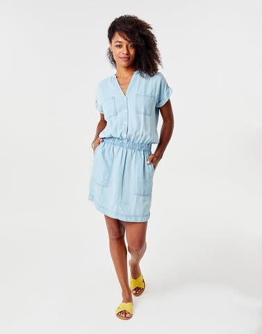 Hadley Dress Light Chambray