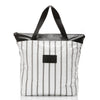 Coco Palms Zipper Tote Black