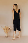 Rosamonde Romper Black