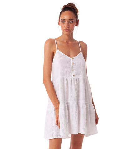 Reverie Dress White