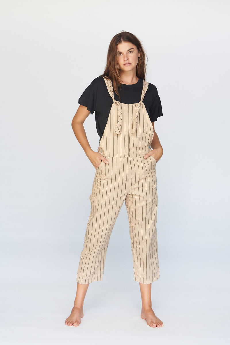 Idaho Overalls in Capri