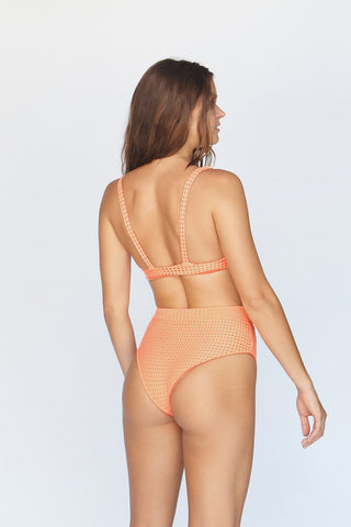 Kanaio Mesh Top Orange Julius
