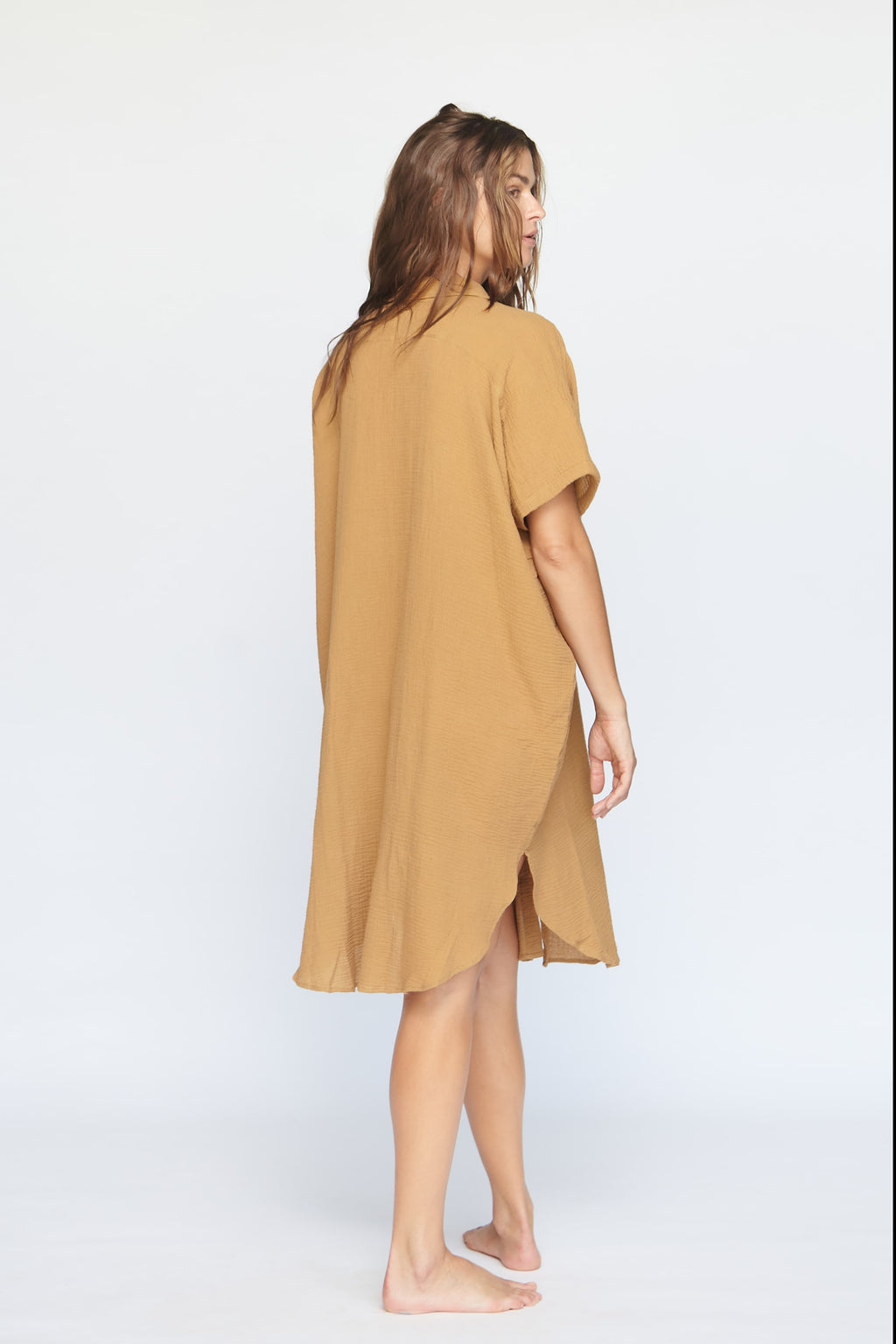 Koki Coverup/Dress Almond
