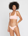 Essentials Tube Bandeau Top Lilac