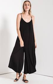 Flared Jumpsuit Black