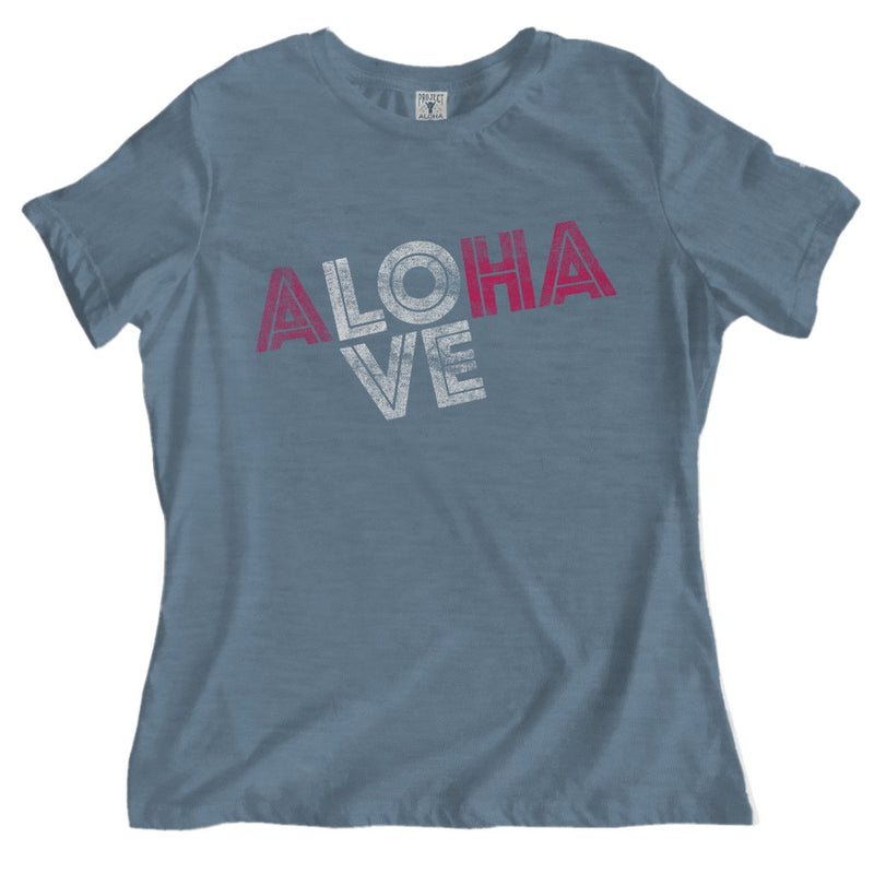 Love Tee Heather Slate