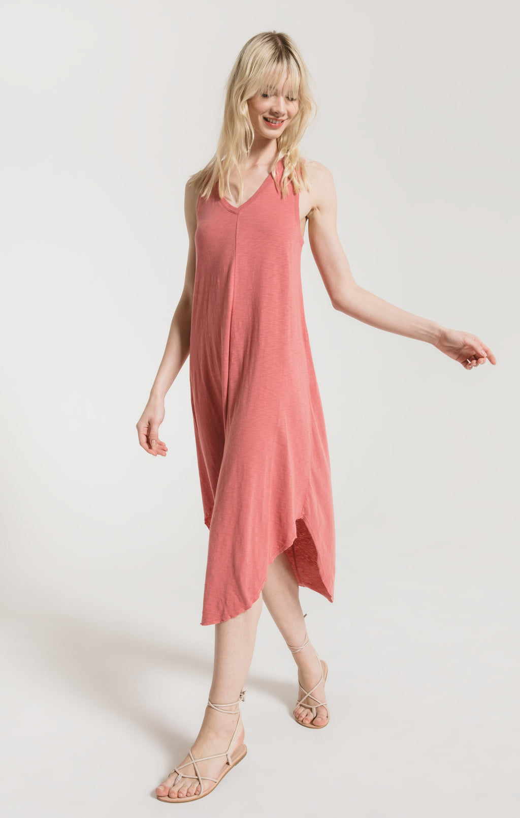 Reverie Dress Slate Rose