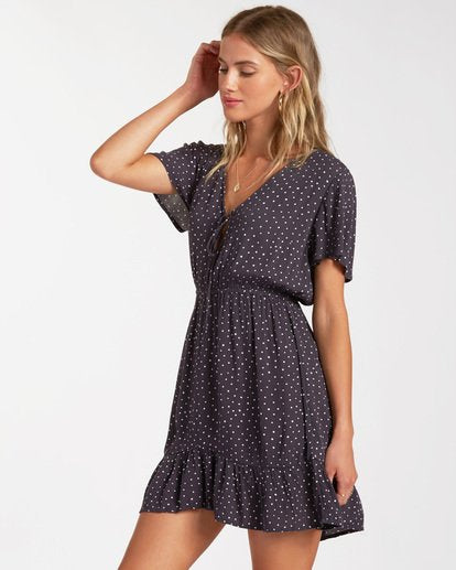 Day Trippin Dress Off Black