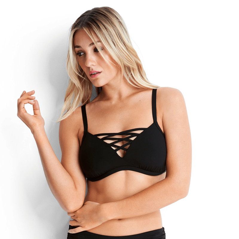 DD Active Bralette Black