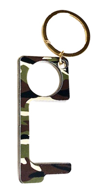 Touchless Keychain Camo