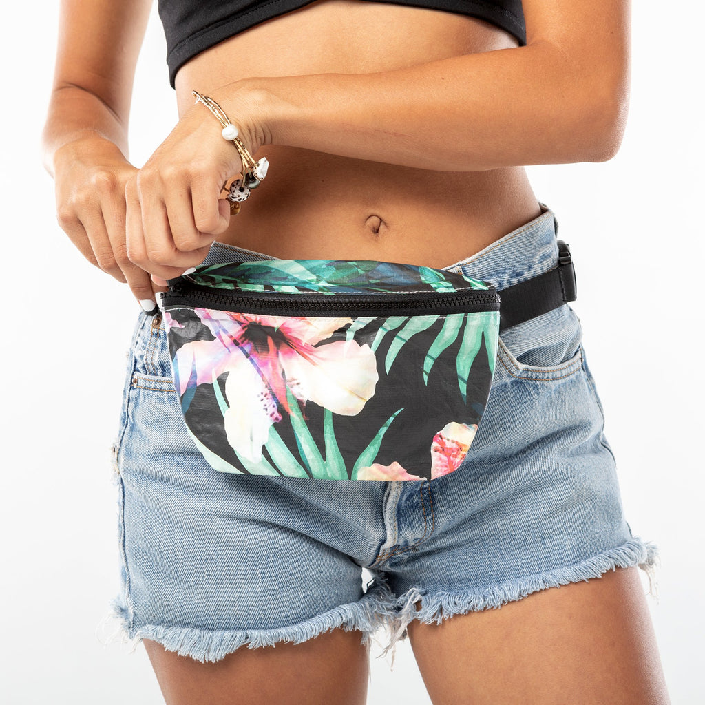 WLFP Hip Pack Hibiscus