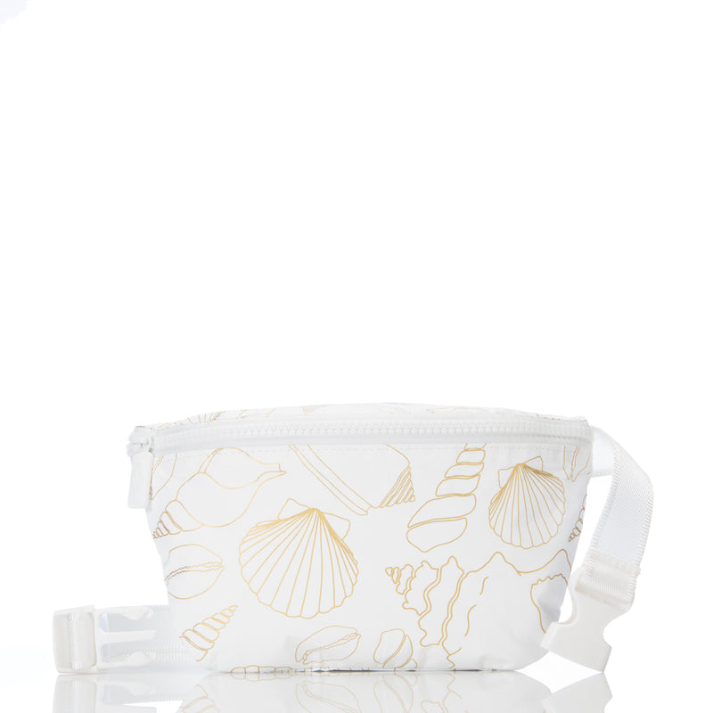 White Seashore Mini Hip Pack
