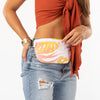 Tropics Starburst/White Mini Hip Pack