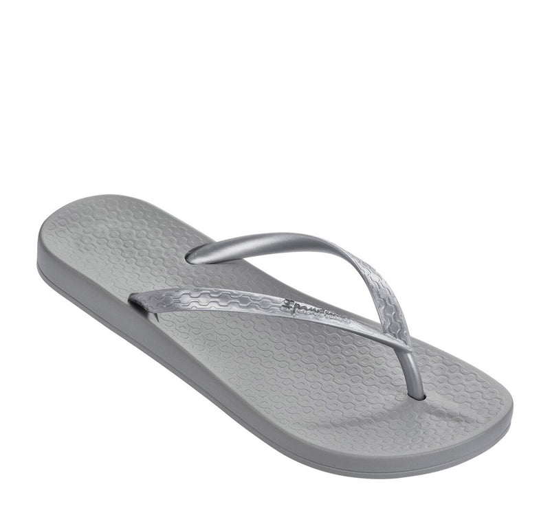 Ana Tan Slipper Silver