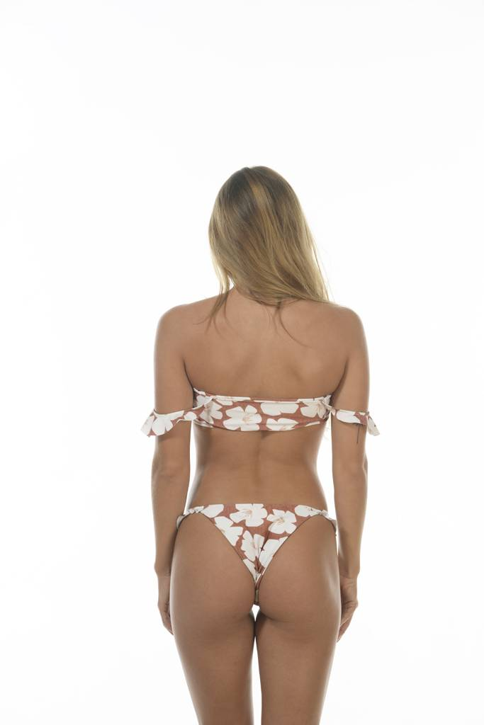 Chloe Bottom Sand Dollar Hibiscus
