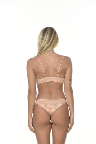 Waikoloa Bottom Apricot Stripe