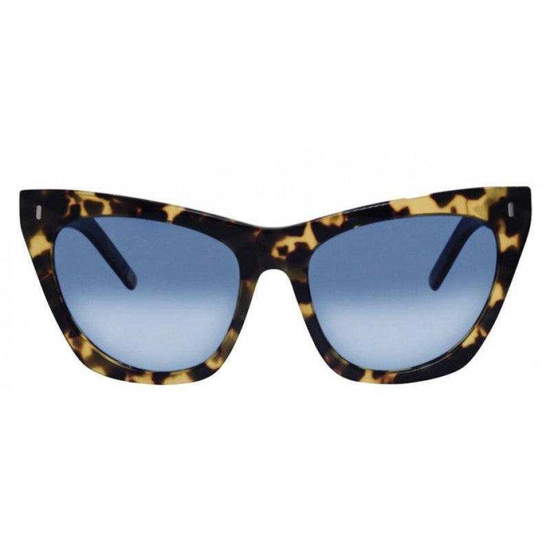 Lexi Snow Tortoise Acetate/Blue Gradient