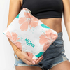 Hibiscus Mid Pouch Guava