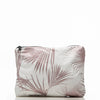 Day Palms Rose Gold Mid Pouch