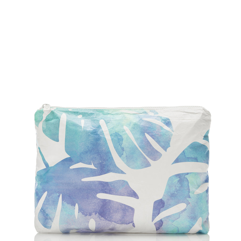 Dawn Monstera Mid Pouch