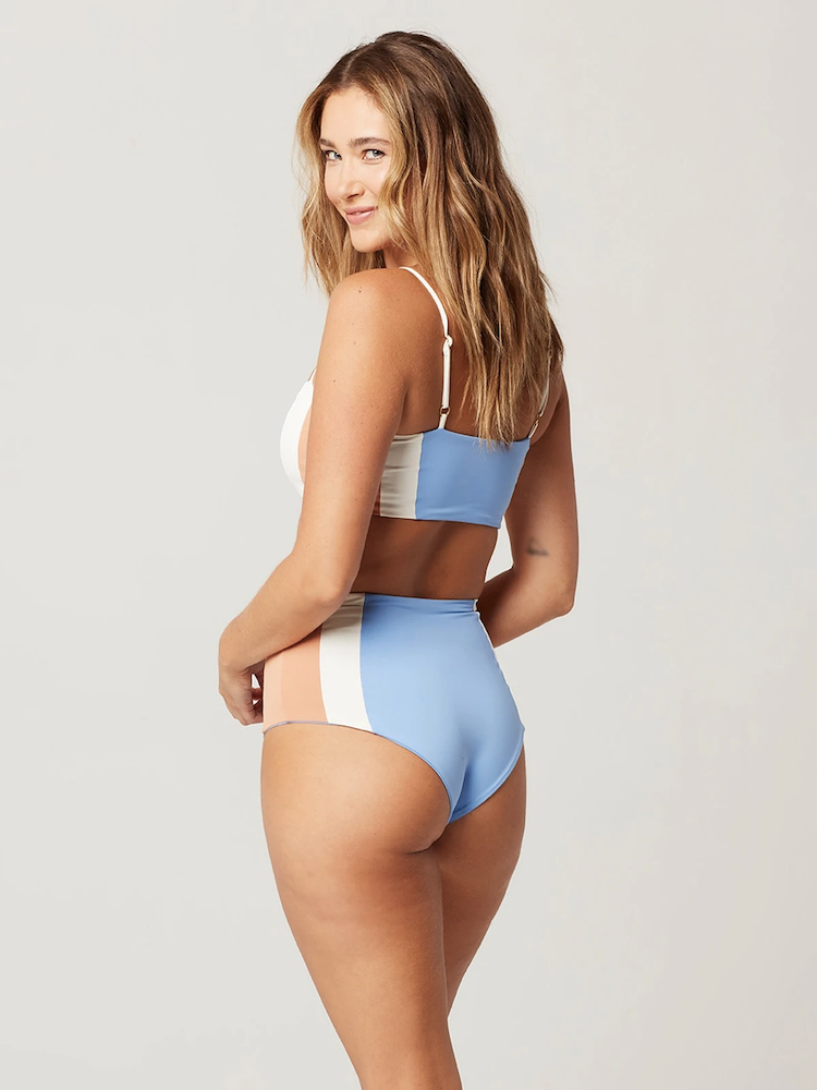 Portia Bottom Cream-Peri Blue-Chestnut