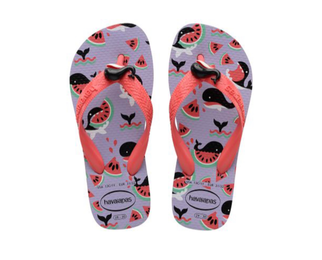 Kids Fantasy Slippers Whales