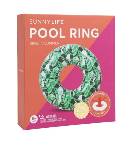 Pool Ring Banana Palm