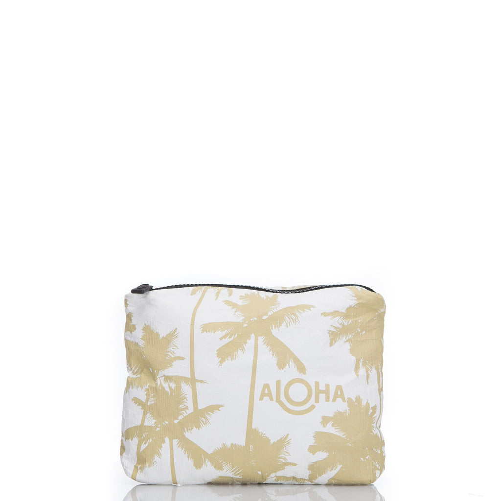 Coco Palms Small Pouch Sand