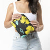 Hibiscus Small Pouch Canary