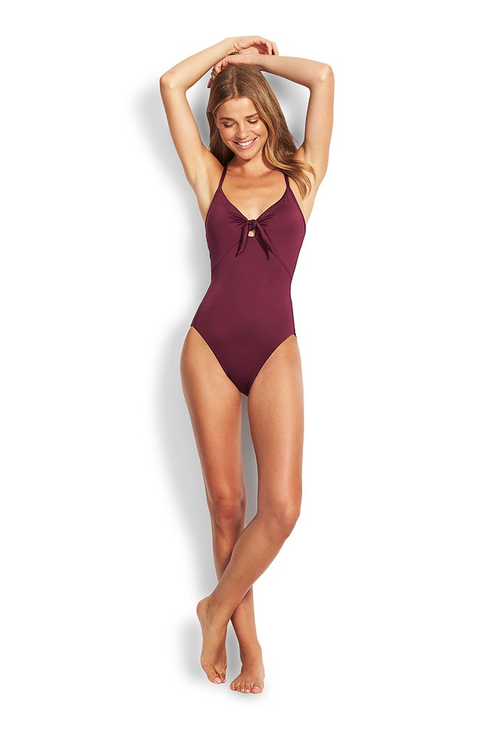 Sweetheart Maillot Boysenberry