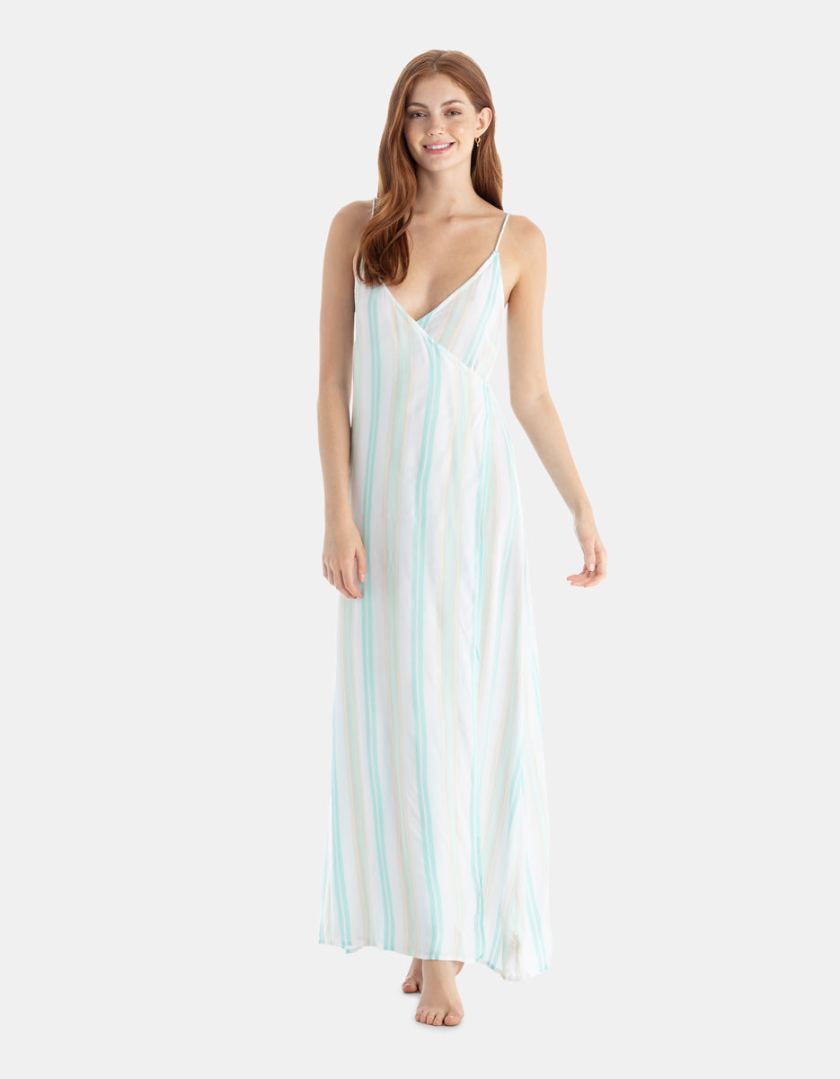 Turner Dress Dobby Stripe