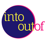 INTO OUTOF logo digital artists Jessica Anderson and Sebastian Monroy