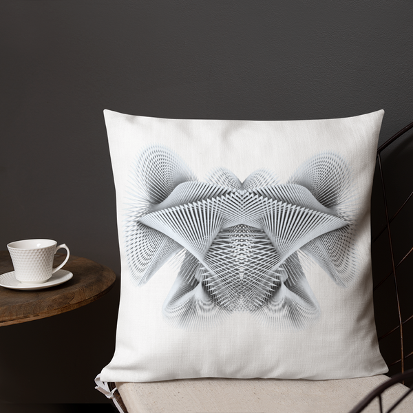 Generative Rorschach 2 // Premium Pillow