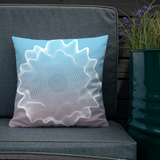 Concentric circles // Premium Pillow