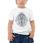 Generative Rorschach 3 // Toddler Short Sleeve Tee