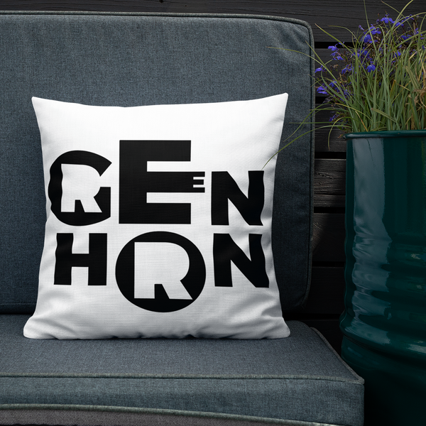 Greenhorn // Premium Pillow