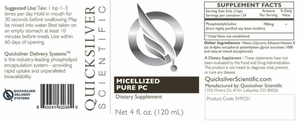 MICELLIZED PURE PC (PHOSPHATIDYLCHOLINE)