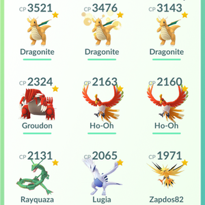 Legendary Account - 33 level - Team Valor #459
