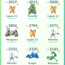 Load image into Gallery viewer, Legendary Account - 34 level - Team Mystic #371