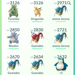 Gym Ready - 33 level - Team Mystic #54