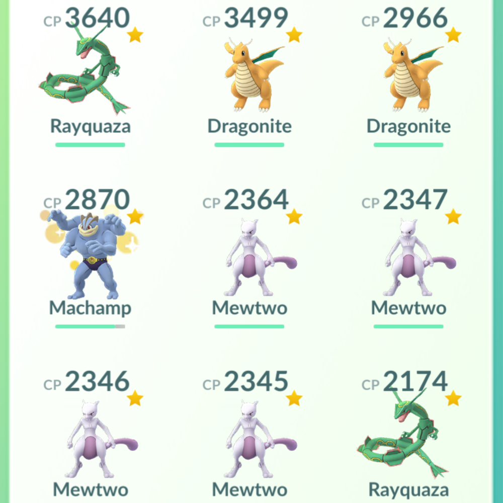 Legendary Account - 35 level - Team Mystic #245